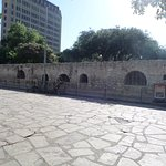The long barn, The Alamo
