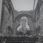 Paderborn, Abdinghof Church, war picture (1945)