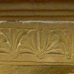 Paderborn, Abdinghof Church, crypt, palmette decoration