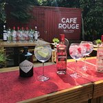 Our Secret Garden Bar is great for every occasion; from big get-togethers to casual drinks!