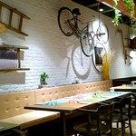 Interno del ristorante Olì 360