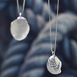 Silver jewelry inspired by nature by Eddó Design