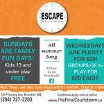 Escape The Final Countdown