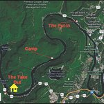 Tennessee River Gorge Map
