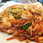 Panang's Pad Thai with large shrimp is quite good.