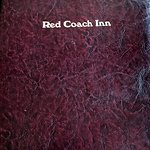 Red Coach menu