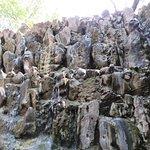 Inside the rock garden