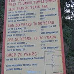 Challenge for a walk from the Ridge to Jakhu temple