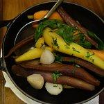 Légumes accompagnant le turbot