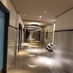 Marble hallway classic building