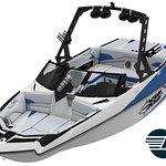 Axis A22 by Malibu Boats, Ski Boat Rental, Lake Powell, Page AZ