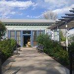 Front Entrance of Dushanbe Tea