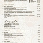 special dishes-vegetarian