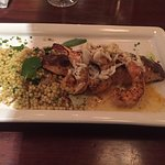 Moroccan salmon dish at Pappadeaux