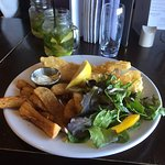 Fresh fish and home made chips