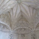 Interesting ceiling vaulting and decorations