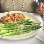 Asparagus and CrabCakes