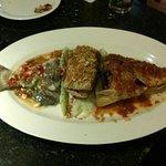 Fish prepared in 3 combinations