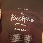 Menu for the Beehive