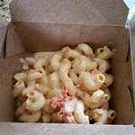 We were hungry so forgot to take pics of our food - luckily we had some extra lobster mac