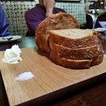 Beautifully baked and seasoned bread