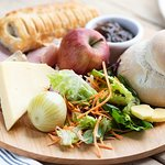 Perfect for the summer our delicious ploughmans salad