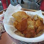 Fish & Chips, pura gordura e batata queimada