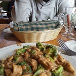 This is the broccoli chicken dish - the best!
