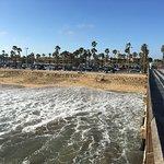Beach by Balboa Pier on Balboa Island