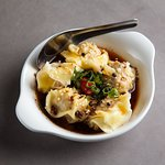 Prawn and Pork Wontons in Chilli Broth