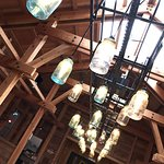 "Amazing light fixture in the ""Shack"""