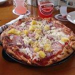 ハワイアンなピザ