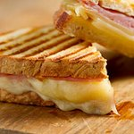 Ham and cheese.