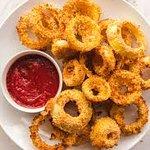 Crunchy Onion Rings.