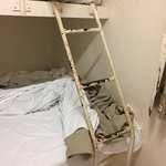 Ladder of bunk bed