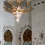 The small chandelier
