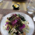 Spectabular salad to begin
