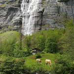 Beautiful Lauterbrunnen, so picturesque, walk and walk for miles and just admire its beauty