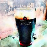 Guinness with currants