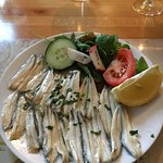 Anchovies starter