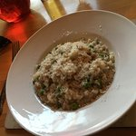 Risotto ~ now covered with Parmesan by husband :0)