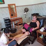 Foot and Reflexology massage good for sirkulation the blood