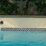 Detalj från poolen