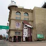 front of Hershey's Chocolate World