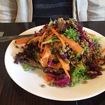 Lentil and carrot salad