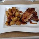 Rôti de porc sauce chili.