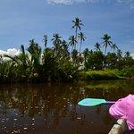 Kayaking down the Ging Oya River