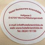 Фотография Hotel Restaurant Kriemhilde
