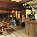 Traditional Bar of the Old House Pub. No piped music, no betting machines, just great beer.