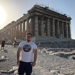 First view of the Parthenon